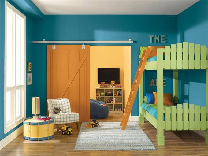 Space Kids - Seating Area