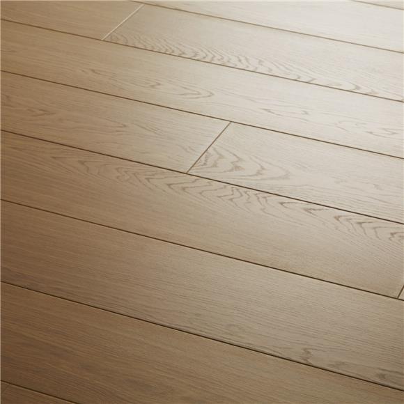 Oak Laminate Flooring Bevelled Edge Makes Beautifully Authentic