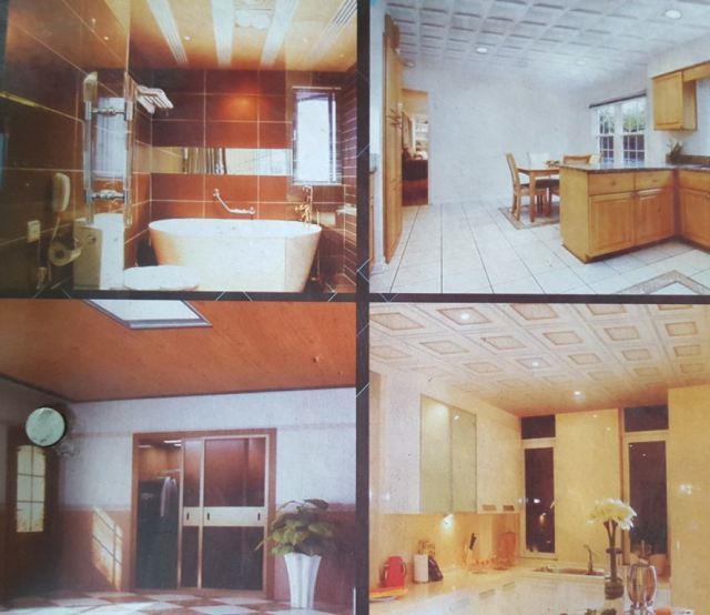 Lantai Kayu Laminated - Jika Rumah Memakai Plafon Kayu