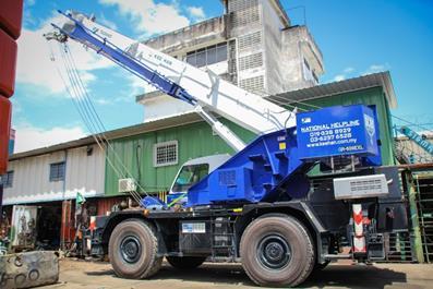 The Construction Site - Rough Terrain Crane