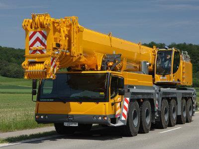 The Material Handling - Mobile Crane