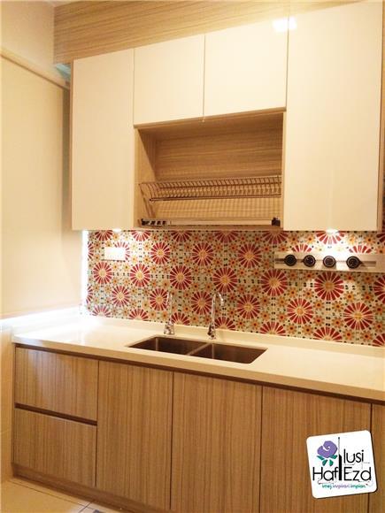 Decorative Tiles Kabinet Dapur