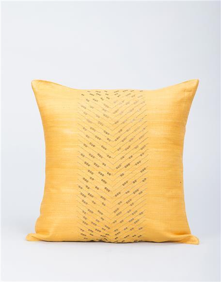 Wanna Make Home - Silk Embroidered Anjit Sequin Cushion