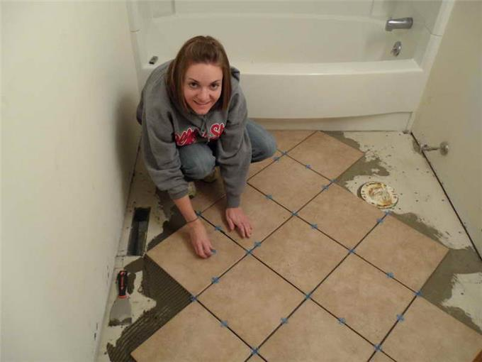 Installing Ceramic Tile Floor Top Install