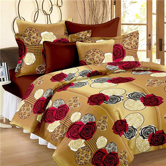 Cotton Double Bedsheet   Soft Luxury Bedding Affordable Price