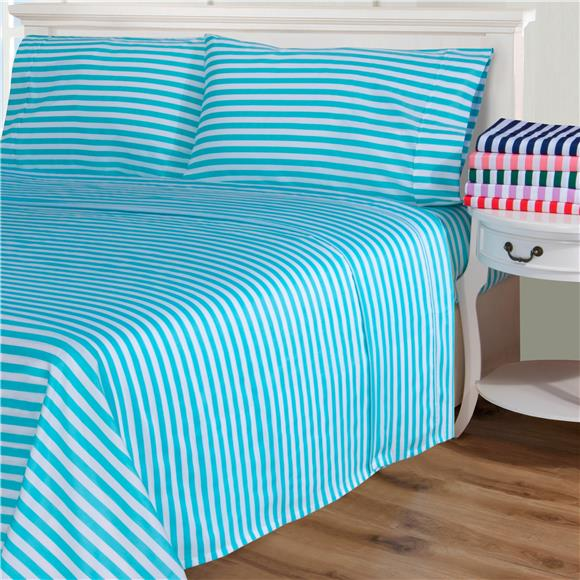 Feeling Like - Cabana Stripe Cotton Blend Sheet