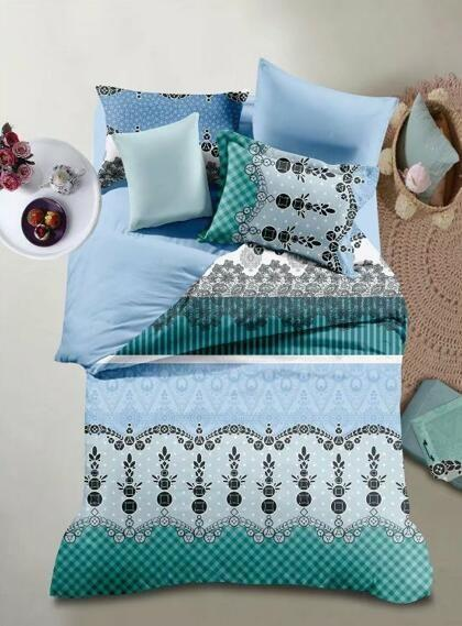 Color 3 Bed Sheet With Pillow