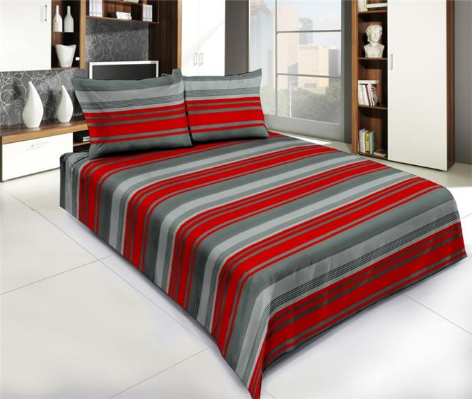 Look Bright - Bedsheet With Two Pillow Covers
