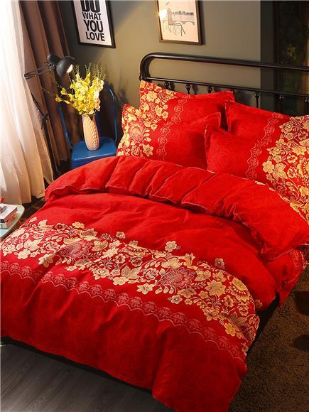 Flower Print - 2pcs Pillow Case