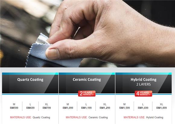 G Guard Malaysia - One Step Hand Application Coating