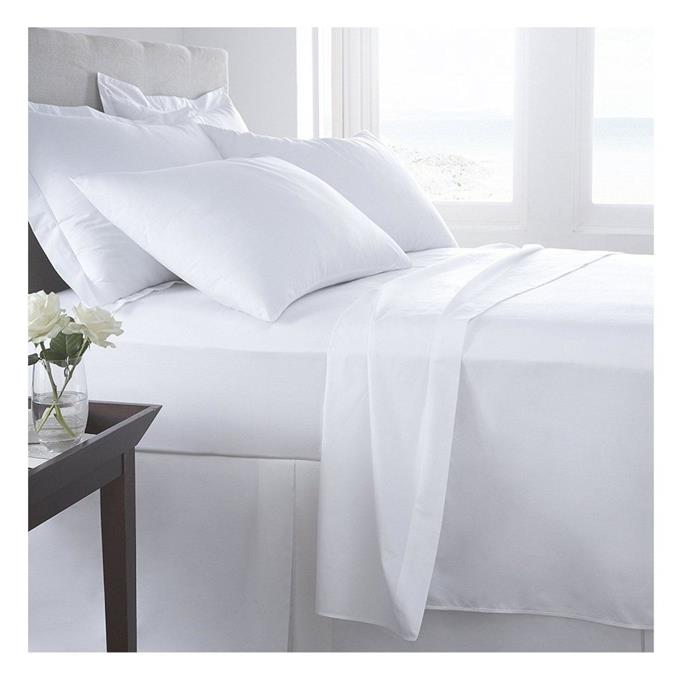 Elastic Corners - Egyptian Cotton Fitted Sheet