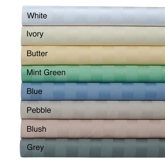 Available In Variety Colors - Fully Elasticized Fitted Sheet