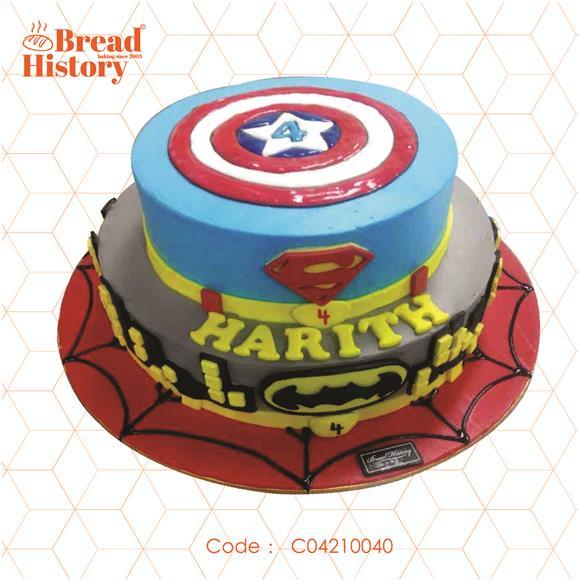 Bread History on Invaber Hello Kitty Birthday Cream Customized