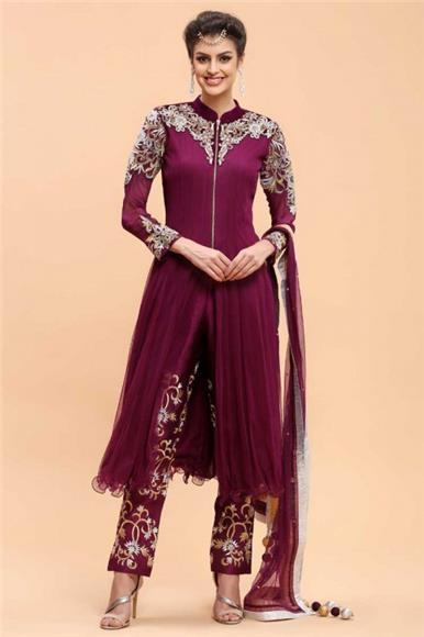 Andaaz Fashion Malaysia - Straight Suit