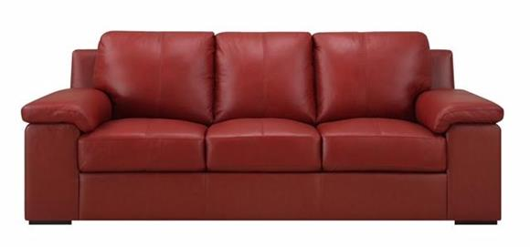 Color Leather - Top Grain Leather Sofa