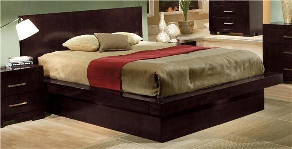 Contemporary Pieces - Bedroom Collection Features