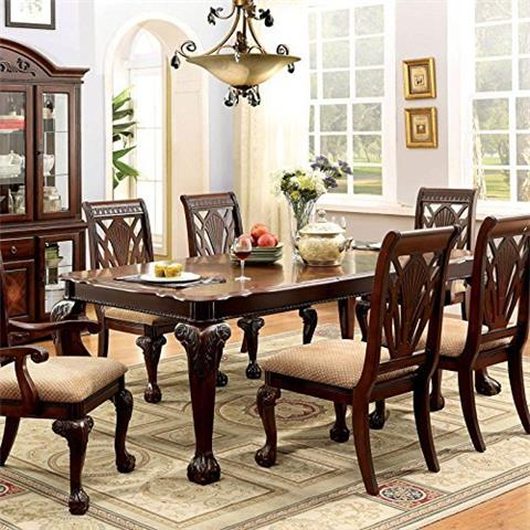 Dining Table Set - Petersburg English Style 7-piece Formal