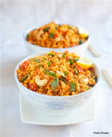 Topped With Fried - Fried Rice