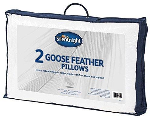 Feeling Like - Silentnight Goose Feather Pillows