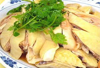 Yang Hainanese Chicken Rice - Salted Egg Yolk
