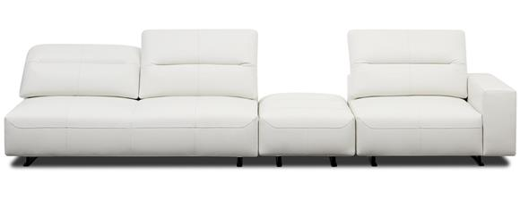 The Product Available In Fabrics - Hampton Corner Sofa With Adjustable