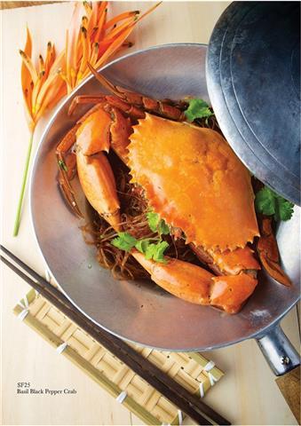 Spicy Thai Thai Cafe - Black Pepper Crab