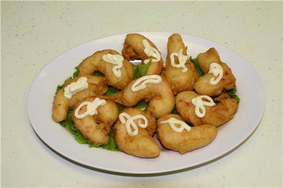 Hwa Jin Vegetarian Family Restaurant - Deep Fried