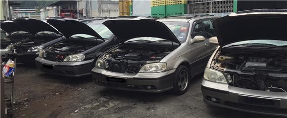 Terato Motor Sport - Naza Ria Convert Toyota Engine