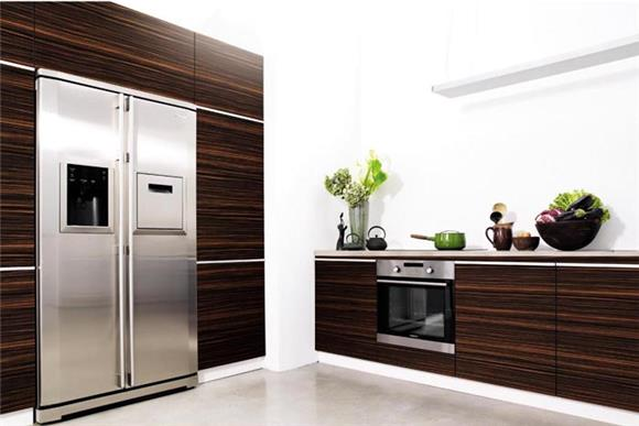 Glossy kitchen cabinets most popular kitchen design for White wood grain kitchen cabinets