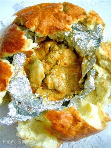 Sweet Bread - Kampar Curry Chicken Bread