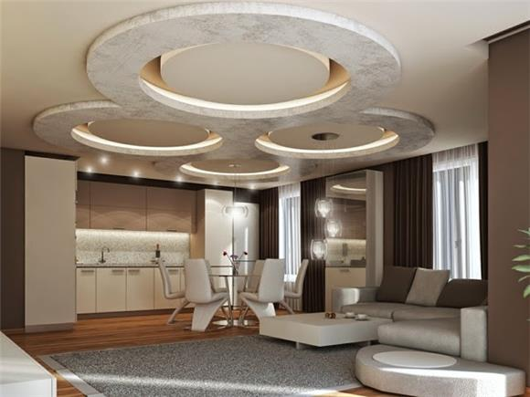 The Gypsum Board Ceiling On Invaber Looking Pop False Ceiling