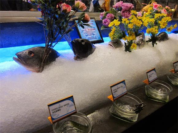 Variety Fish - Jogoya Buffet Restaurant Starhill Gallery