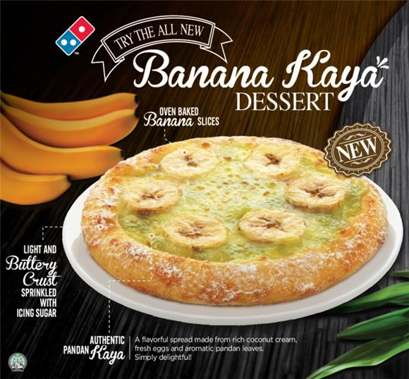 Among Friends - Banana Kaya Dessert Domino's Pizza