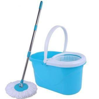 Spin Mop Magic Mop - Press Handle Rotation Dryer Cleaner