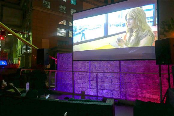 Start 9 - Movie Nights Frisky Rooftop Bar